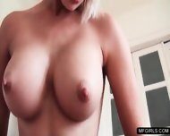Blonde Whore Performs A Steamy Deep Throat To A Dude - scene 5