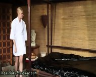 Masseuse Gets Spunked On - scene 2