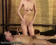 Masseuse Gets Spunked On - scene 7