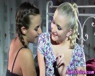 Lesbian Domina Eaten Out - scene 1