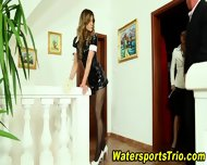 Watersports Trio Fucks - scene 3