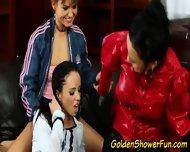 Lesbo Sluts Piss Shower - scene 5