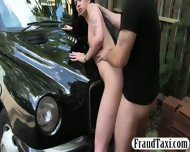 Amateur Chick Nailed By Pervert Driver For A Free Cab Fare - scene 9