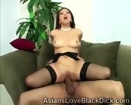 Gifted Brotha Makes Little Asia Suffer With His Massive Black Tool - scene 10
