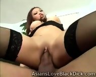 Gifted Brotha Makes Little Asia Suffer With His Massive Black Tool - scene 4