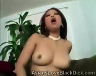 Gifted Brotha Makes Little Asia Suffer With His Massive Black Tool - scene 7