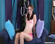Fresh New Teen Gets Fucked In A Sex Swing - scene 2