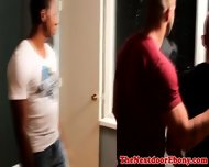 Gaysex Interracial Jocks Threesome Fun - scene 1