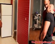 Gaysex Interracial Jocks Threesome Fun - scene 2