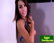 Ts Champagne Undresses Very Sensually - scene 1