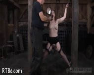 Hung Up Babe Is Punished - scene 11