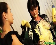 Sensual Messy Fun With Vanilla Sauce - scene 9