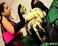 Sensual Messy Fun With Vanilla Sauce - scene 3
