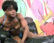 Black Female Bodybuilder Rough Huge Clit - scene 1