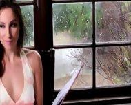 Eva Sedona In Her First Lesbian Sex Experience With Celeste - scene 1