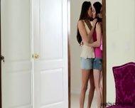 Eva Sedona In Her First Lesbian Sex Experience With Celeste - scene 2