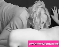 Mormon Lesbian Cums From Pussy Licking In Teen Fantasy - scene 9