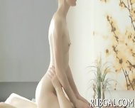 Agile Masseur Makes Out With Bitch - scene 9