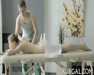 Agile Masseur Makes Out With Bitch - scene 7