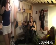 Mouth-watering Dorm Party - scene 1
