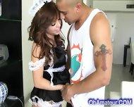 Hot Little Brunette Maid - scene 5