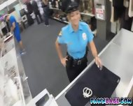 Ms. Police Officer And Her Big Booty Banged In The Pawnshop - scene 2