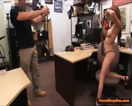 Latina With A Big Ass And Boobs Gives Pawnshop Owner A Bj - scene 4