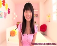 Japanese Teen Naked In Front Of Six Dudes - scene 2