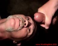 Redneck Straight Mature Takes Facial - scene 8