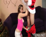 Slim Teen Suffers From Wild Dick - scene 4
