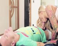 Hot Milf Kayla Green And Olive Bell Intense Threesome Action - scene 5