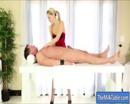 Pretty Masseuse Zoey Monroe Milking Her Clients Cock - scene 4