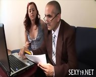 Teacher Is Getting Wet Blowjob - scene 4