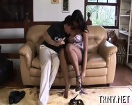 Horny Tranny Mounts A Dick - scene 8