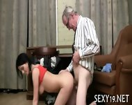 Lusty Offering For Old Teacher - scene 10