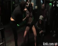 Mind-blowing Group Punishment - scene 7