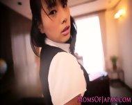 Japanese Mature Hana Haruna Spanked - scene 1
