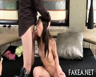 Babe Uses Mouth To Seek For Job - scene 6