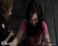 Beauty Tears Up During Torture - scene 4