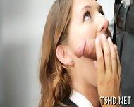 Geek Girl Gets Fucked - scene 1