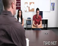 Schoolgirls Playing Dykes - scene 6
