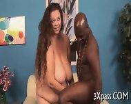 Black Dick For Fat Girl - scene 9