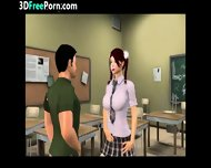 Threesome In 3d Animation - scene 12