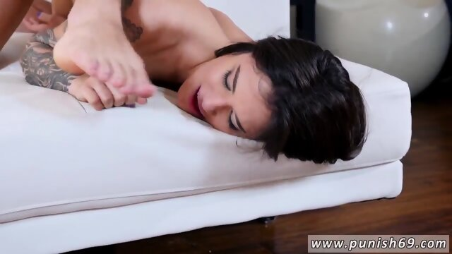 Gag from hell and retro hardcore gangbang Luna Lovely in Dont Break The Rules