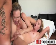 Brandi Love And Taylor Whyte Hot 3some On Massage Table - scene 12