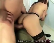 Brotha Splits A Tight Asian Pussy In Twice With His Huge Meatbone - scene 9