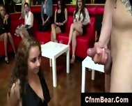 Strippers Get Blowjobs From Group Of Cfnm Babes Who Also Lick Pussy At Party - scene 4