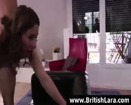 Tall Mature British Brunette In Stockings Fucked By Younger Stud - scene 12