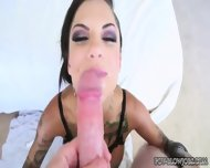 Bonnie Rotten With Big Tits Gives Sloppy Blowjob - scene 6