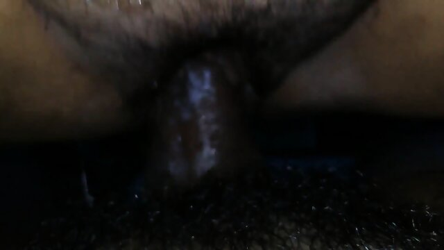 Aunty takes black fat dick on her wet dripping creamy pussy